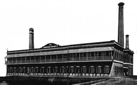 Factory of the Gramophone Co, Ltd, 139 Bellaghata Road, Sealdah, Calcutta