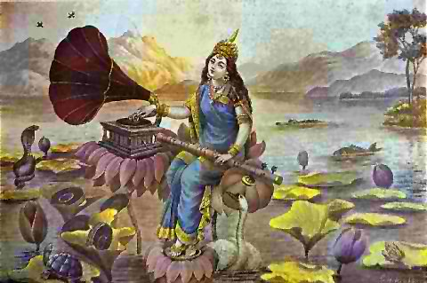 Gramophone Saraswati