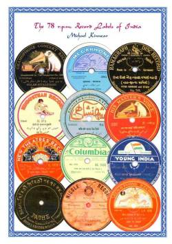 78 rpm Record Labels of India, Michael Kinnear
