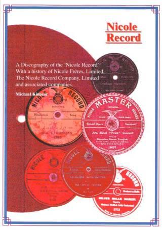 Nicole Record, A Discography - Michael Kinnear