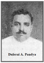 Dulerai A. Pandya, The National Gramophone Record Manufacturing Company Ltd.
