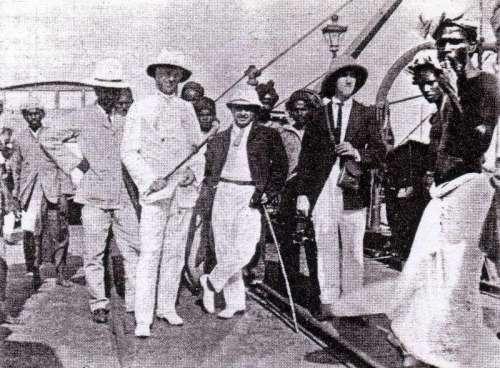 Frederick William Gaisberg and George Dilnut, Calcutta