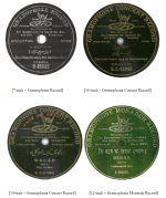 GRAMOPHONE RECORD, ZONOPHONE, Reading Indian Record Labels – Part 1