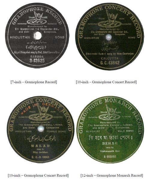 Gramophone Record, Gramophone Concert Record, Gramophone Monarch Record