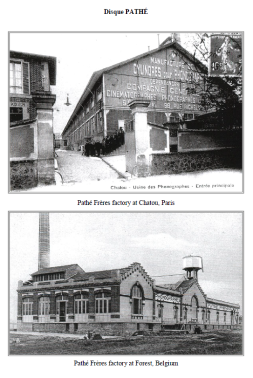 Pathe Freres Factory, Chateau, Paris and Forest, Belgium
