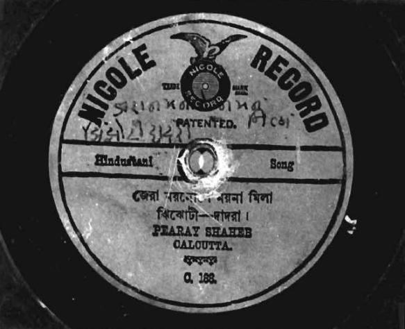 Nicole Record, Pearay Shaheb, C. 188
