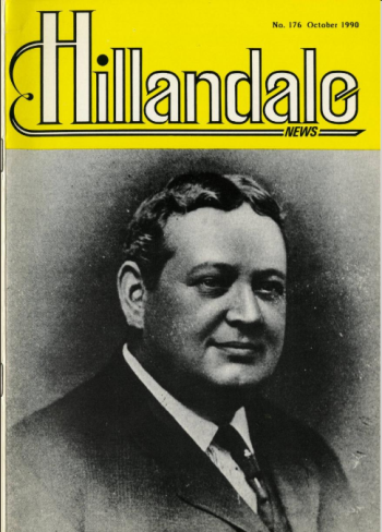 The Hillandale News, No. 176, October 1990