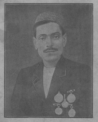Peara Saheb with Medals